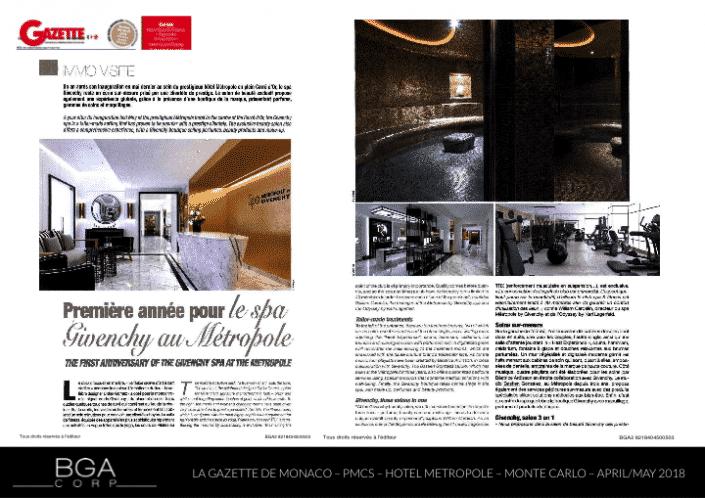Gazette Monaco BGA Corp