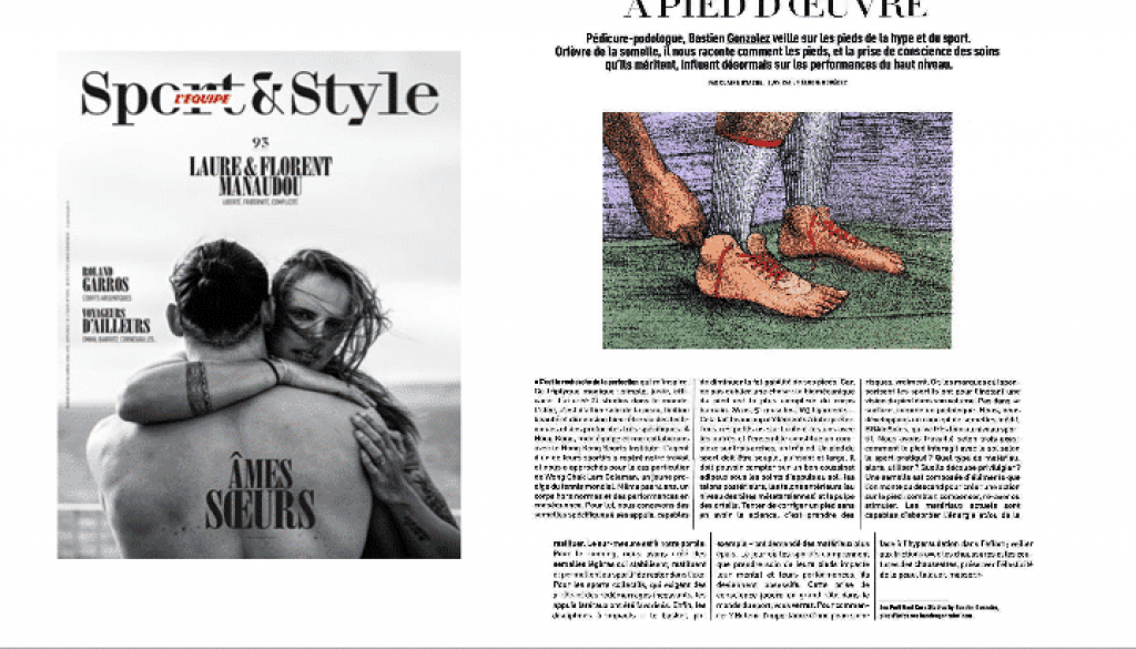 L'Equipe Sport&Style - A pied d'oeuvre