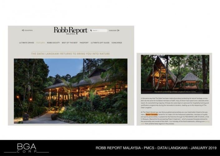 ROBB REPORT MALAYSIA - THE DATAI LANGKAWI
