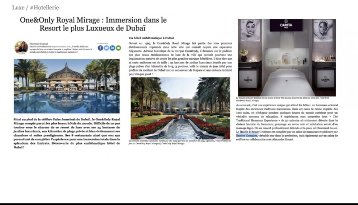 FORBES MAGAZINE - PMCS OO ROYAL MIRAGE